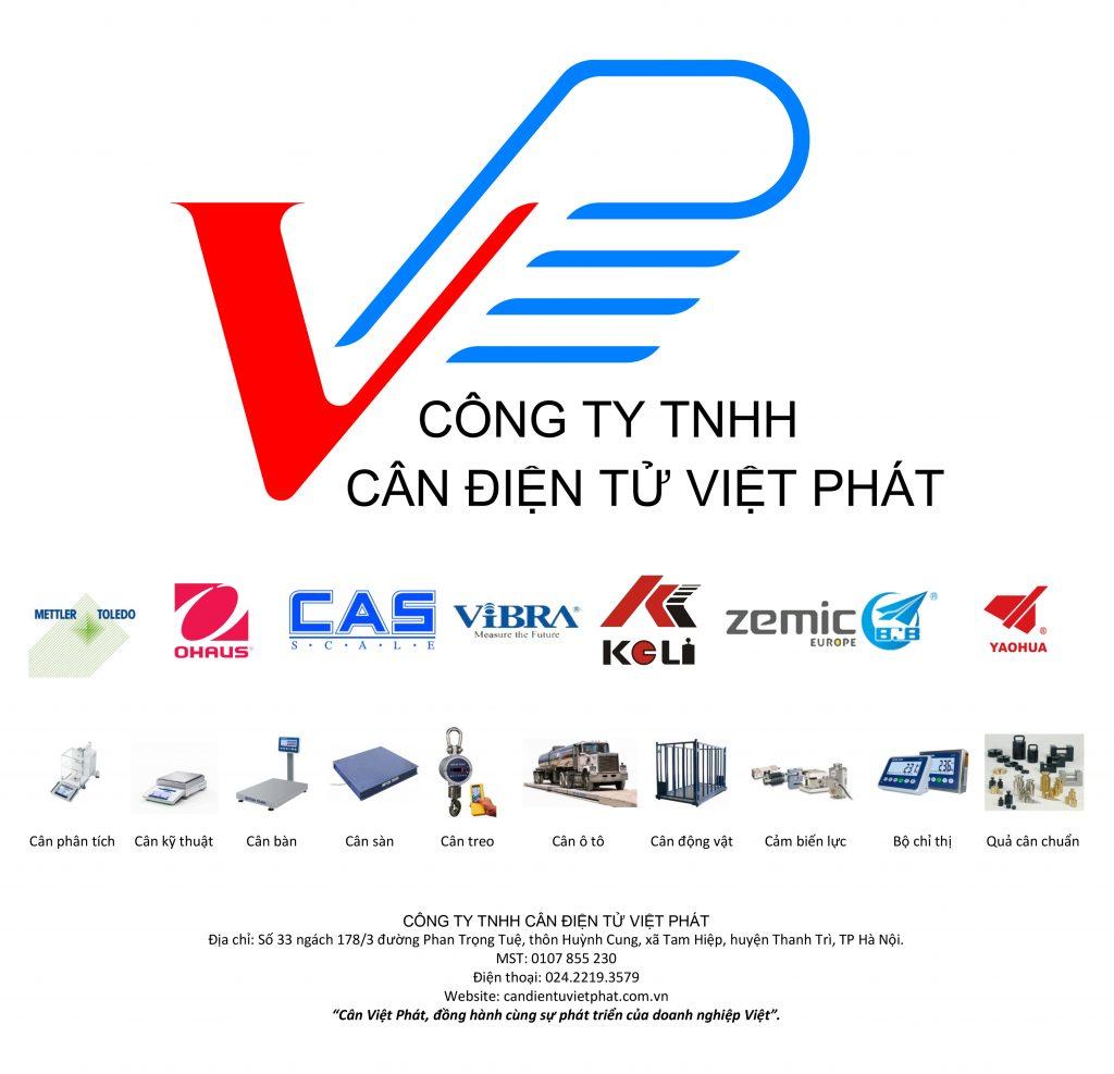 Công ty TNHH cân điện tử Việt Phát