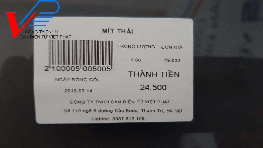 Cân siêu thị TM-A Pro, cân in tem nhãn, mã vạch, kết nối wifi, hàng sẵn, giá tốt.