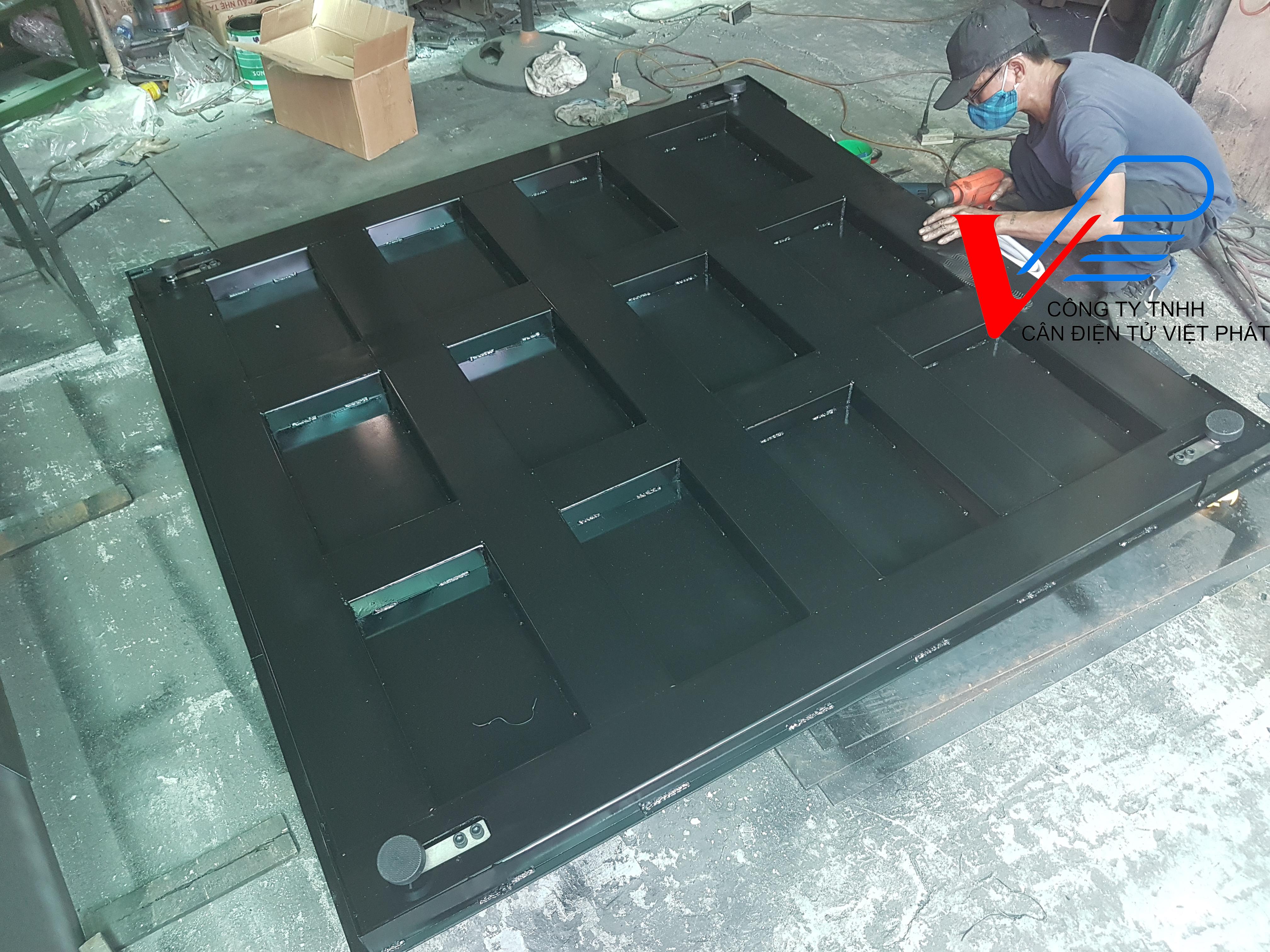 Cân sàn A27E 5 tấn