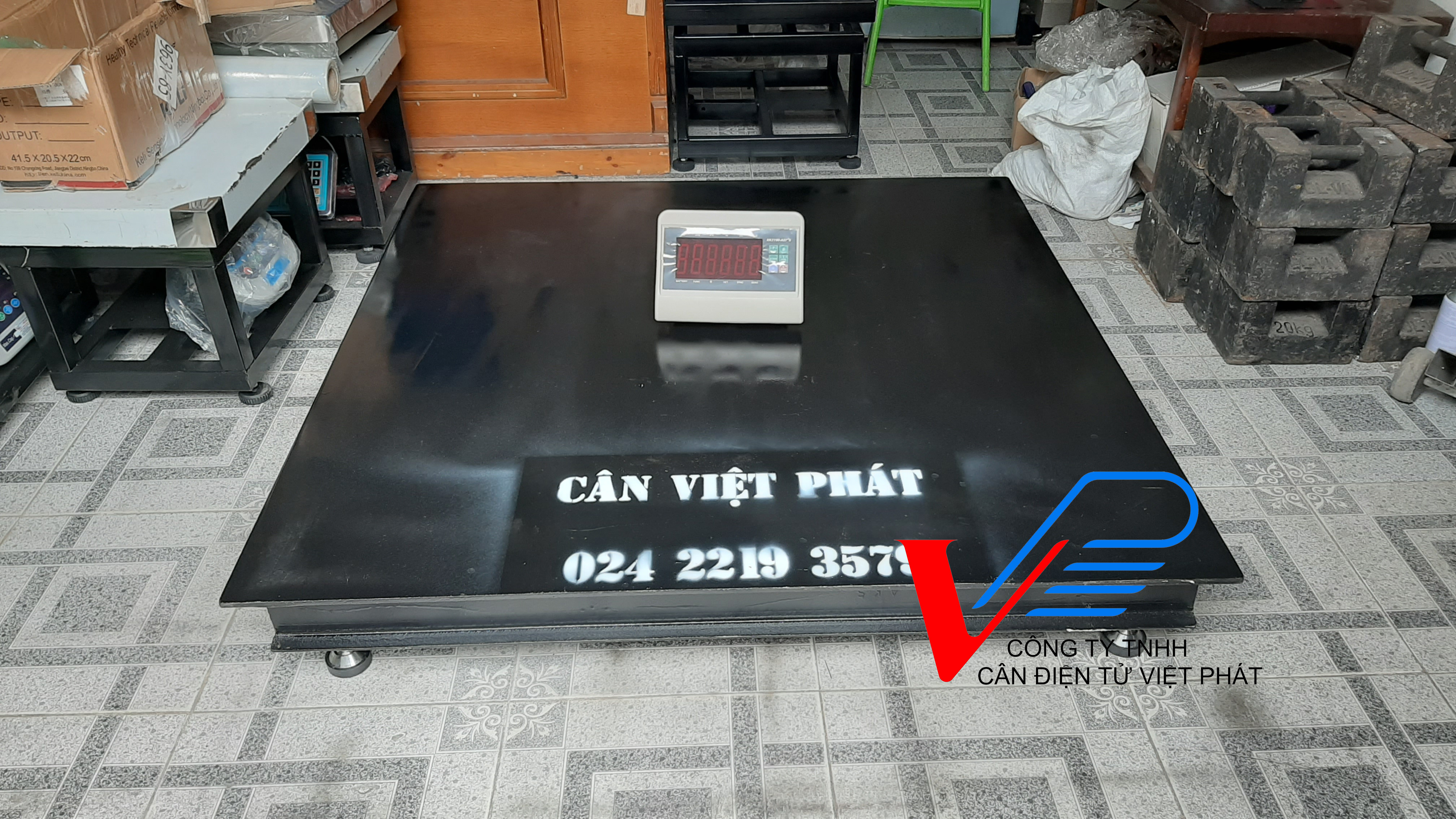 Cân sàn A27E 8 tấn