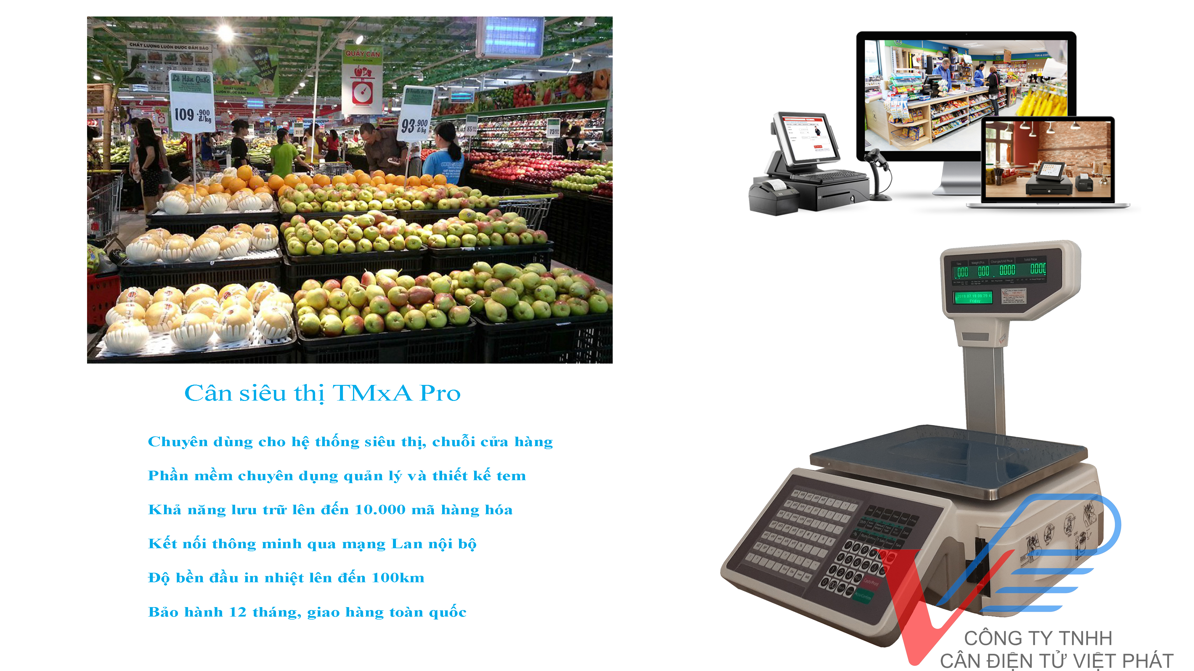 Mua cân siêu thị TMA tại Bắc Giang