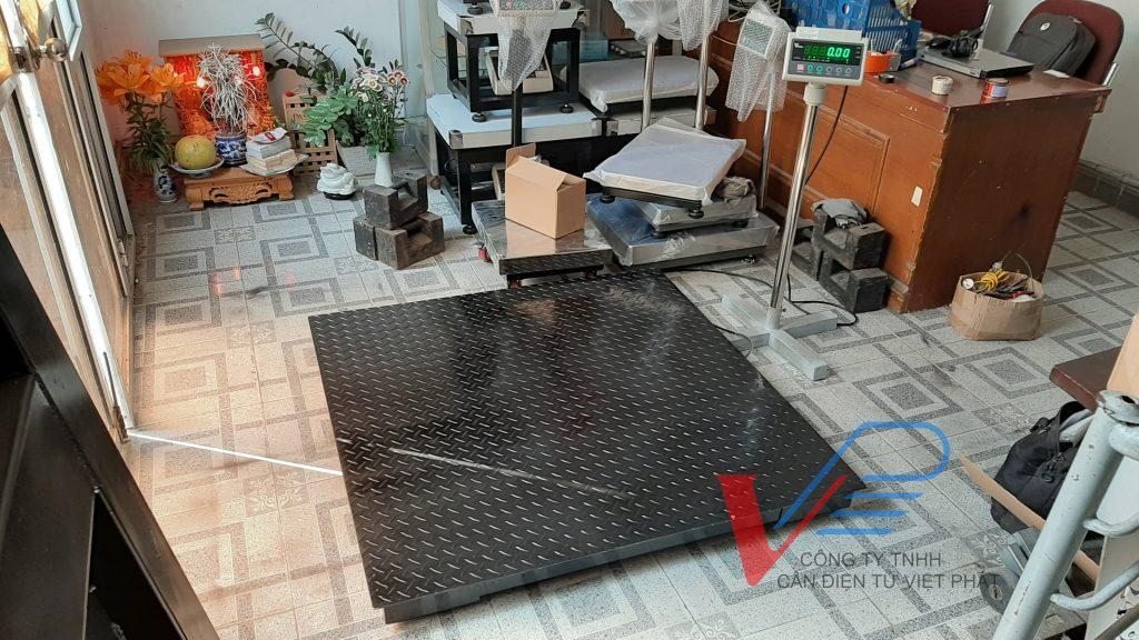 Bộ thiết bị cho cân sàn điện tử VPS 500kg,1 tấn,2 tấn, 5 tấn