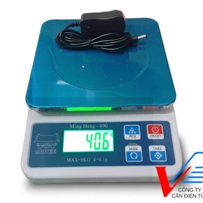 Cân điện tử mini giá rẻ 6kg sai số 0,1g